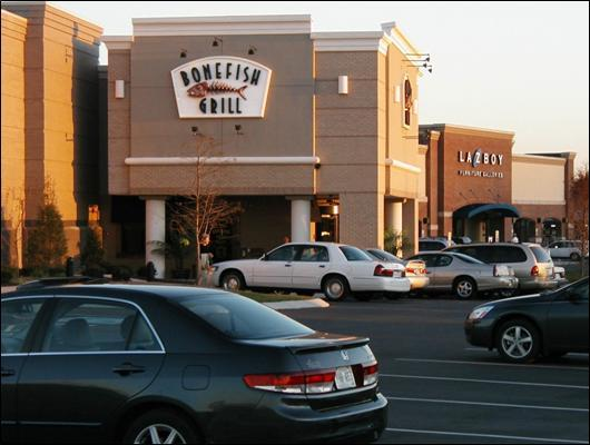 Bonefish Grill and La-Z-Boy Furniture Galleries, Franklin, Tennessee